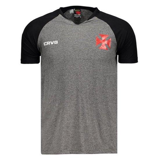 b5b09b384b Camisa Vasco da Gama Nitta Masculina - Cinza - Compre Agora