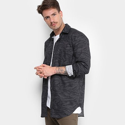 Camisa Element Greene LS Masculina