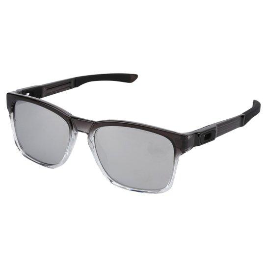 Óculos Oakley Catalyst Masculino - Cinza - Compre Agora   Netshoes 2d3ec8dce9
