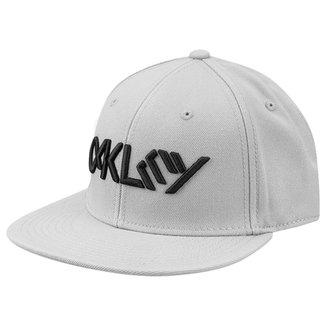 Boné Oakley Aba Reta Mod Octane Hat Masculino 5d99959f653