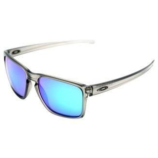 3f4952aa0bef0 Óculos Oakley Sliver Xl-Iridium Polarized