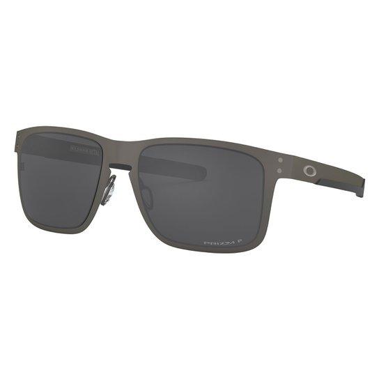 4d46020763527 Óculos Oakley Holbrook Metal - Cinza - Compre Agora   Netshoes
