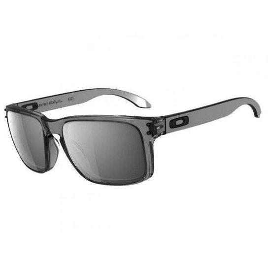 Óculos Oakley Holbrook Grey Smoke Iridium - Compre Agora   Netshoes 7d4d11a4c1