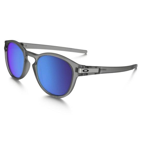 d4bd508d4 Óculos Oakley Latch Matte Gray Ink Sapphire Iridium Polarized | Netshoes