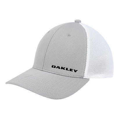 Boné Oakley Aba Curva Silicon Bark Trucker 4.0 Masculino 994e7a5bd94