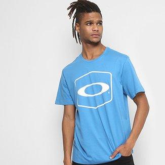 Camiseta Oakley Hexagonal Tee Estampada Masculina 287859876d