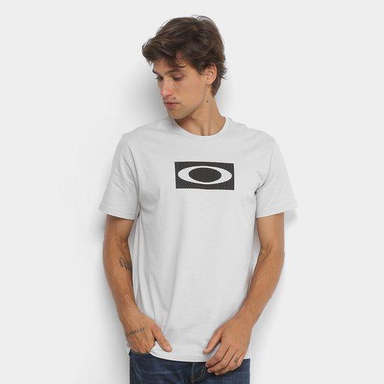 2208c981691d8 Camiseta Oakley Ellipse Mesh Masculina - Cinza - Compre Agora   Netshoes