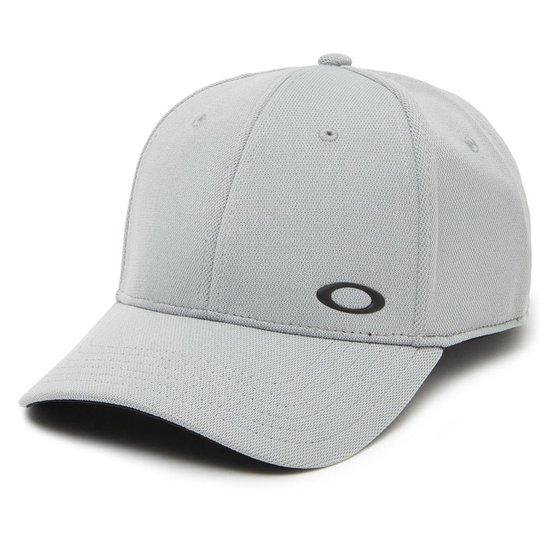 Boné Oakley Silicon Ellipse Flexfit - Cinza - Compre Agora  8e1727f440660