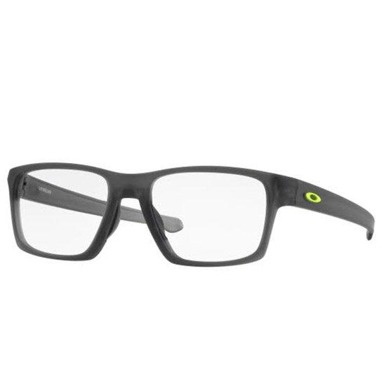 Óculos Oakley de Grau Lightbeam - - Cinza - Compre Agora   Netshoes cfb1bb86e9