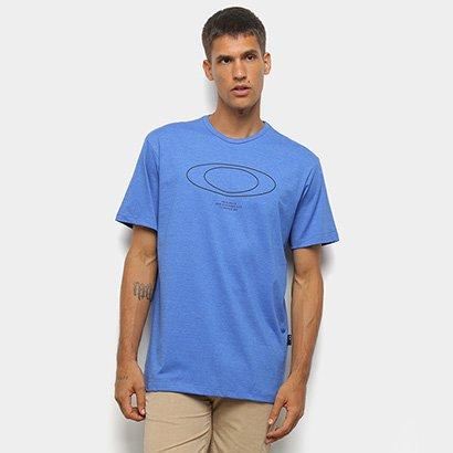 Camiseta Oakley Blur Storm Heather Masculina