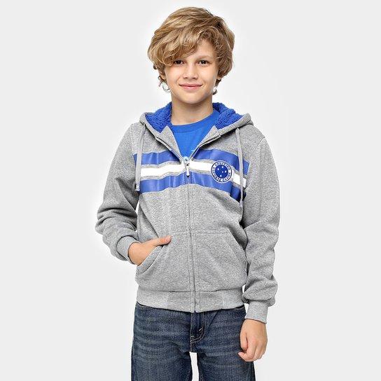 5fc57224c4 Jaqueta Cruzeiro c  Capuz Infantil - Compre Agora