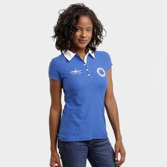 0ba382bf8ecd7 Camisa Polo Feminina Cruzeiro Special Champion - Compre Agora   Netshoes
