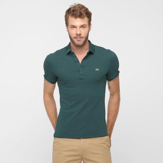 Camisa Polo Lacoste Piquet Slim Fit - Compre Agora  e4ca8a3503721