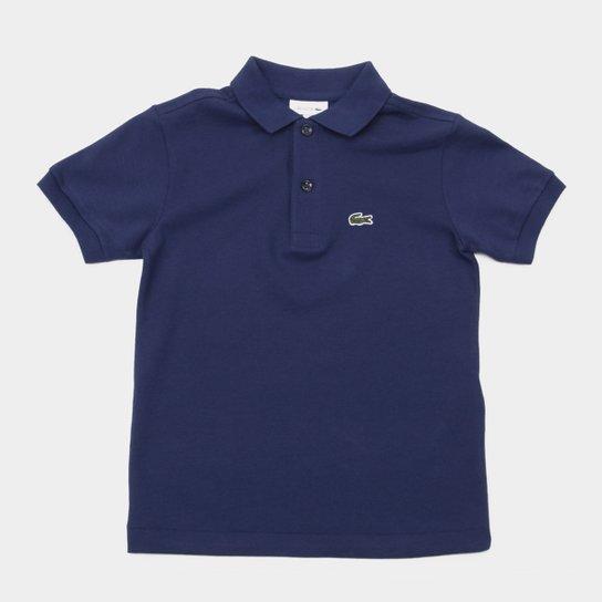 7502e7ed395 Camisa Polo Infantil Lacoste Masculina - Azul Royal - Compre Agora ...