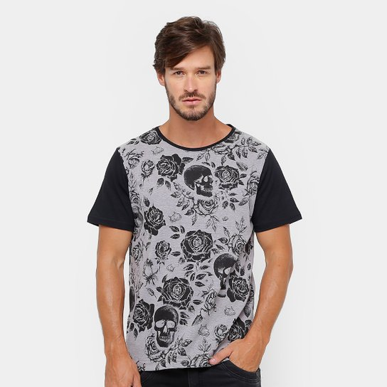 1d5adaab4a1 Camiseta Red Nose Floral Masculina - Compre Agora
