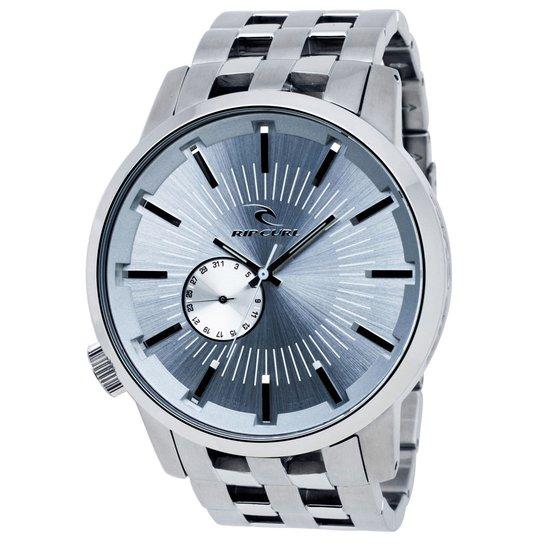 c5c9ce1d52 Relógio Rip Curl Detroit - Prata+Azul Claro