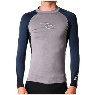Camiseta Para Surf Rip Curl Wave Manga Longa 3775447b2c