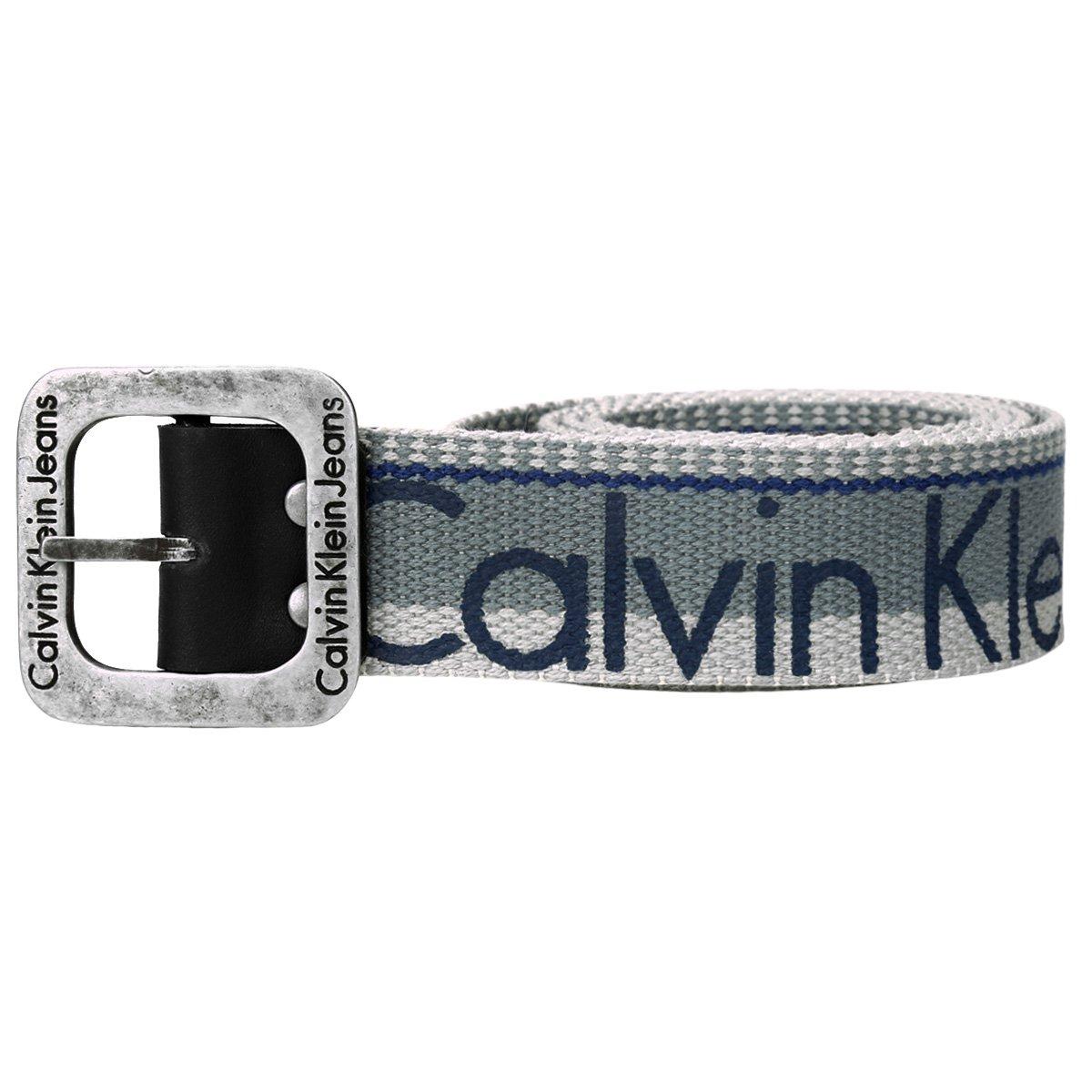 Cinto Calvin Klein Lona Logo