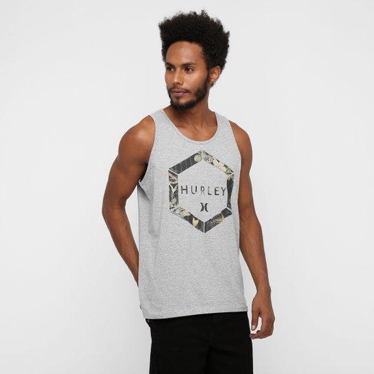 e18ceeb0d8 Camiseta Regata Hurley Foxagon - Compre Agora