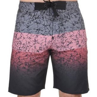 Bermuda Hurley Concret Masculina