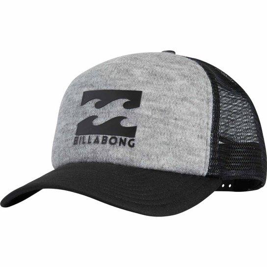 Boné Billabong Podium Trucker - Cinza - Compre Agora  0fafb0b8a06