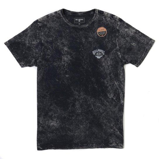 Camiseta Masculina Billabong Inferno Cinza Escuro - Compre Agora ... 66d723812b0