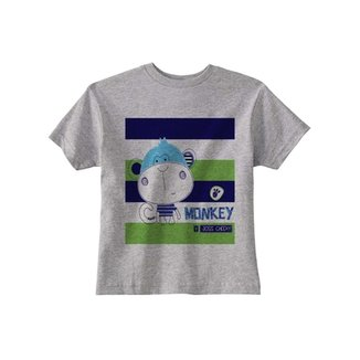 Camiseta Infantil Joss Monkey Masculino 9b749274c75cc