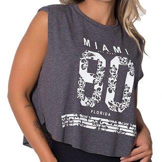 aeae34cb4 Camiseta Fitness Regata Miami