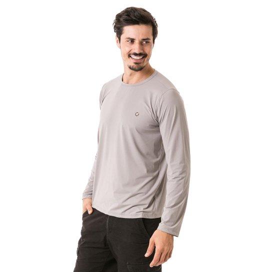 090c525e0e Camiseta com Proteção Solar FPU50+ Manga Longa Extreme UV Ice - Cinza