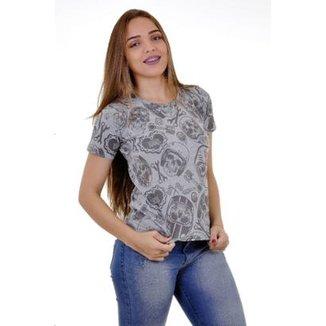 dca5da0353 Camiseta Moto Lovers Somos Todos Iguais Feminina
