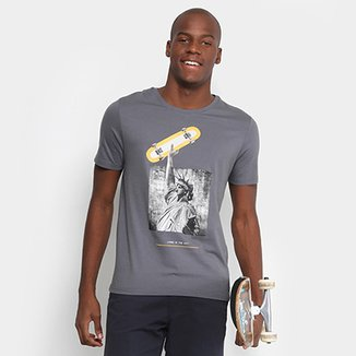 Camiseta Mood Living In The City Masculina