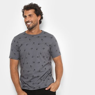 Compre Camisetas Masculinas Skate Online   Netshoes 3ab41ee574