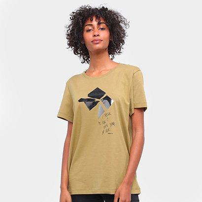 Camiseta Forum Estampada Manga Curta Feminina