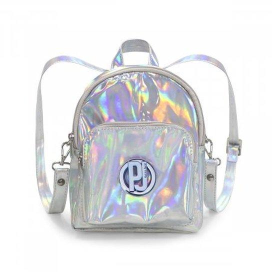 a5ef5c5b09 Mini Mochila Petite Jolie Holográfica Verniz Pj2525 - Compre Agora ...