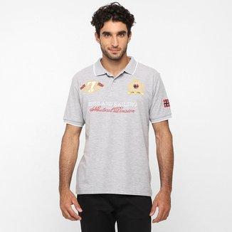 51e085f8d Camisa Polo Broken Rules Piquet Bordado