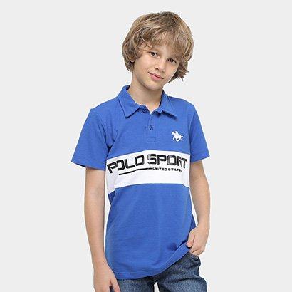 Camisa Polo RG 518 Bicolor Infantil