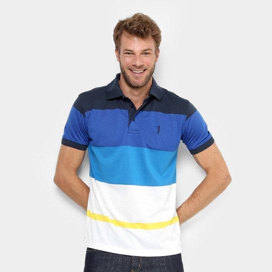 d1e1266c067 Camisa Polo Aleatory Listras Coloridas Masculina - Compre Agora ...