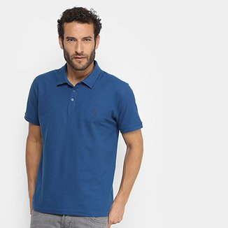 Camisa Polo Aleatory Lisa Gola Jacquard Masculina d4edd078272