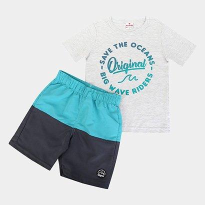 Conjunto Infantil Brandili Oceans Original Masculino