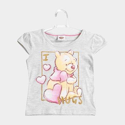 Blusa Infantil Fakini Ursinho Pooh Feminina
