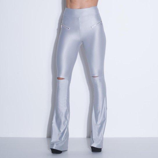 b527f0733 Calça Labellamafia Widder Flare Gray - Compre Agora | Netshoes
