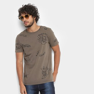 Camiseta Replay Rock'n'Roll Masculina