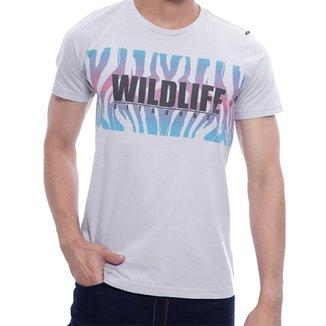 37111c4c39 Camiseta Básica Oitavo Ato Wildlife com Estampa Frontal