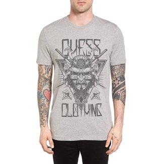 188ac5f008 Camiseta Chess Clothing Cinza Mescla