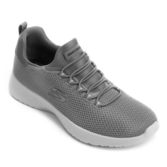 3215f33eb59 Tênis Skechers Dynamight Masculino - Cinza - Compre Agora