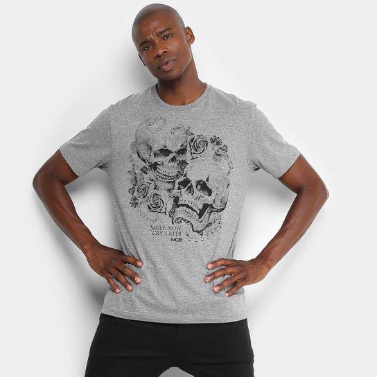 Camiseta MCD Smile and Cry Masculina - Compre Agora  b60d45a10e3