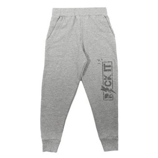 Calça Infantil Jogger Comfy Rock It