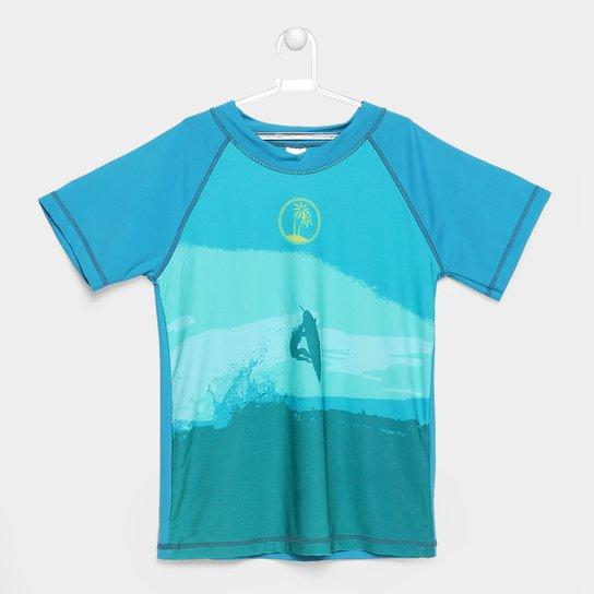 46f1180db83a1 Camiseta Infantil Tip Top Authentic UV Surf - Compre Agora