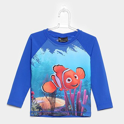 Camiseta Infantil Tip Top Estampa Nemo