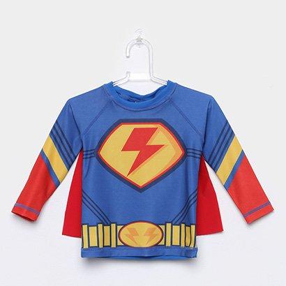 Camiseta Infantil Tip Top Com Capa Masculina